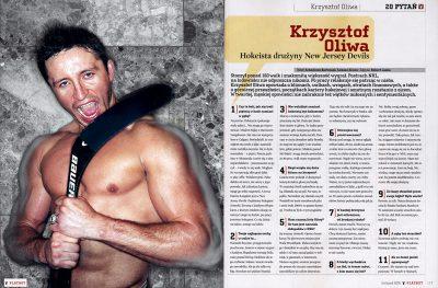 Krzysztof Oliwa, NHL Player / Warszawa 2005