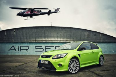 Bell Cobra Flying Bulls vs Ford Focus RS