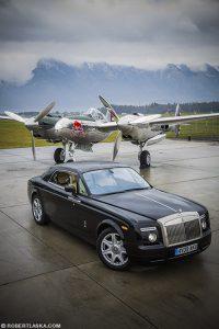 Rolls Royce Phantom Coupé and P 101 Lighting / Top Gear magazine Poland