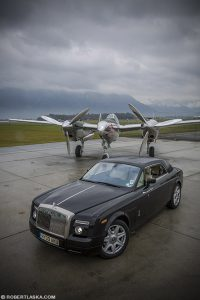 Rolls Royce Phantom Coupé and P 101 Lighting