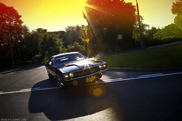 Dodge Challenger @ Warsaw / TopGear