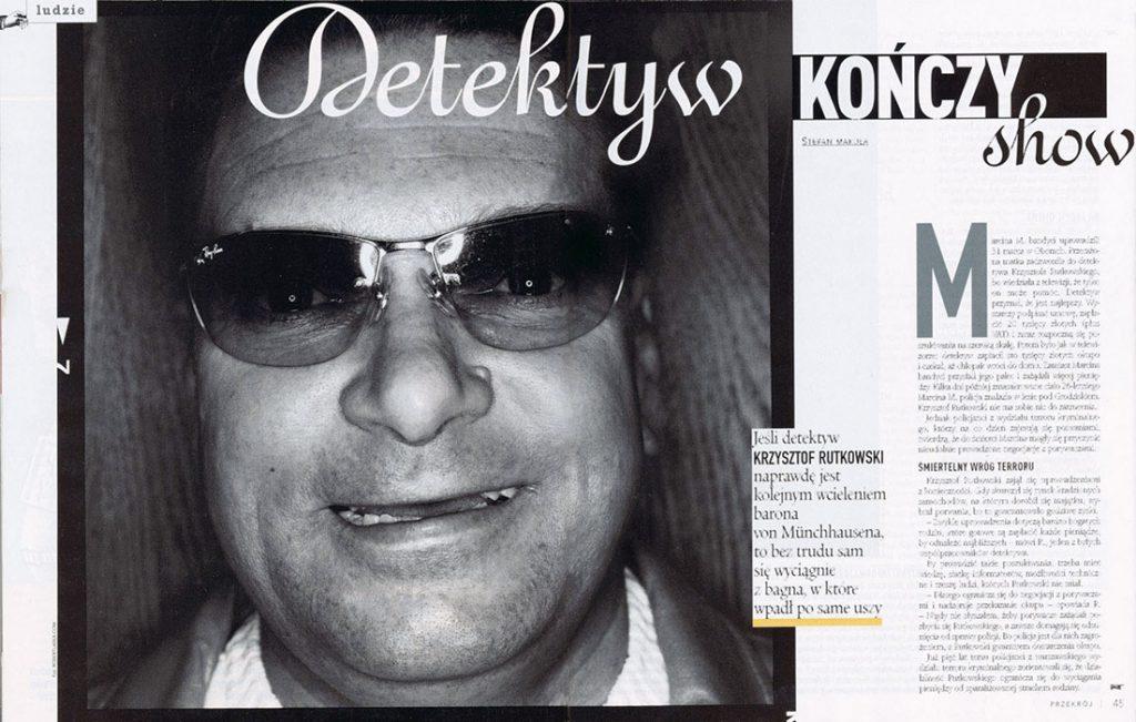 Krzysztof Rutkowski / Przekrój