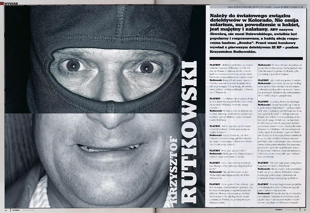Krzysztof Rutkowski / Playboy