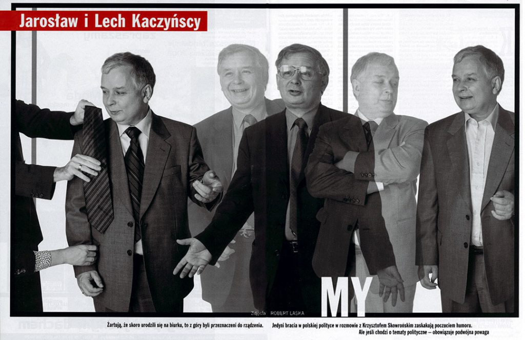 Lech, Jarosław Kaczyńscy / Viva