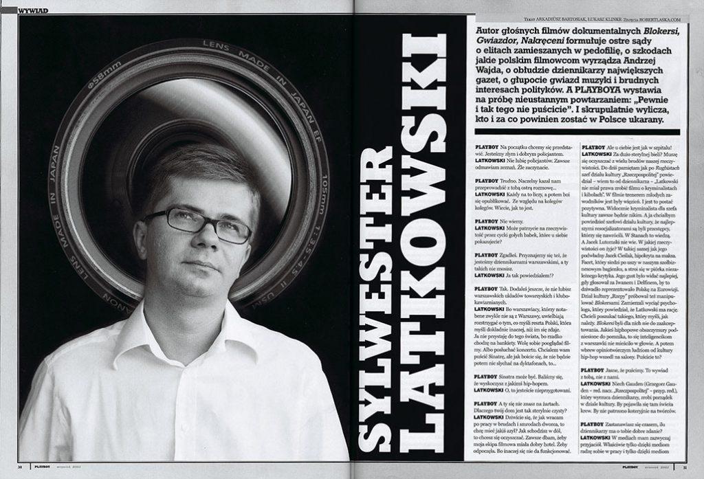 Sylwester Latkowski / Playboy