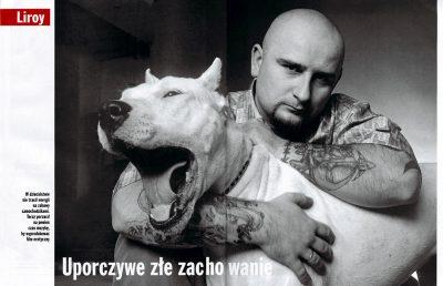 """Piotr """"Liroy"""" Marzec / Warszawa 2002"""
