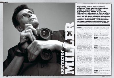 Krzysztof Miller / Playboy 2004
