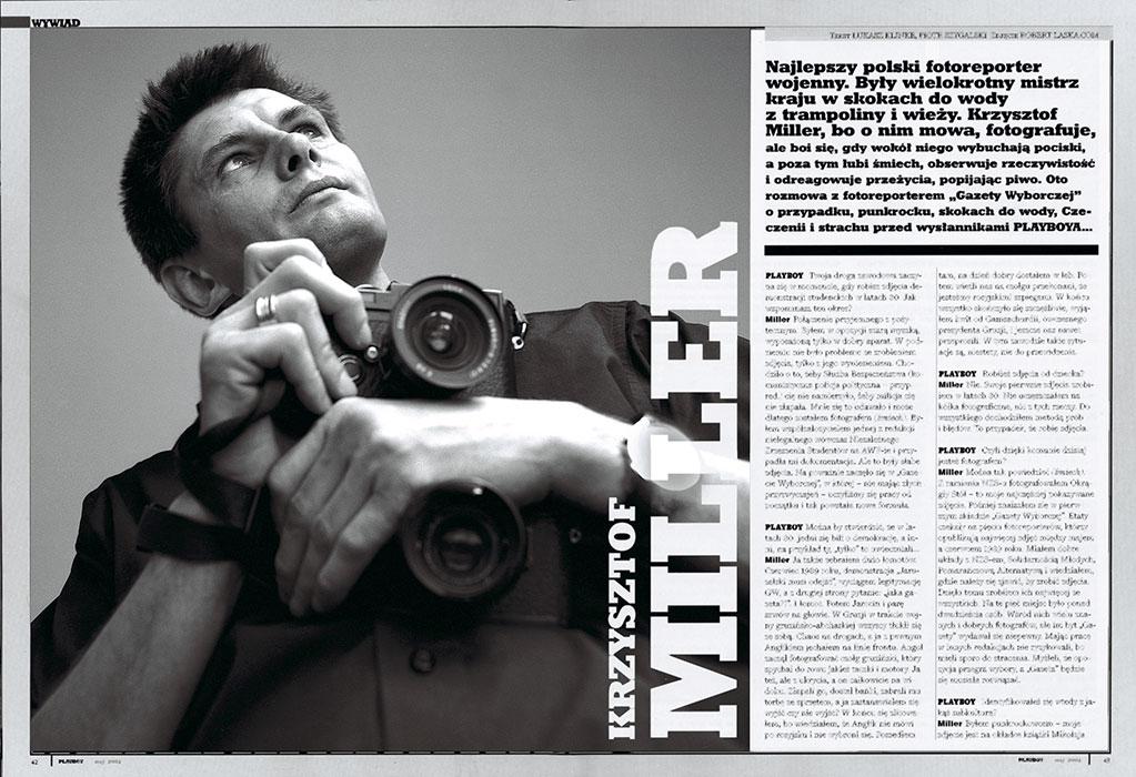Krzysztof Miller / Warszawa 2004