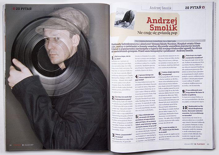 Andrzej Smolik / Playboy