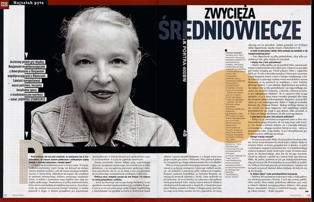 Jadwiga Staniszkis / Przekrój