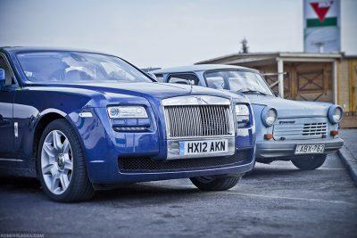 Rolls Royce Ghost, Romania / TopGear