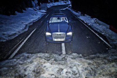 Rolls Royce Ghost - Carpathians, Romania / TopGear
