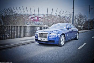 Rolls Royce Ghost, Warsaw / TopGear