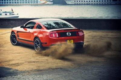 Ford Mustang-Boss 302 for Ramp Magazine @ Köln