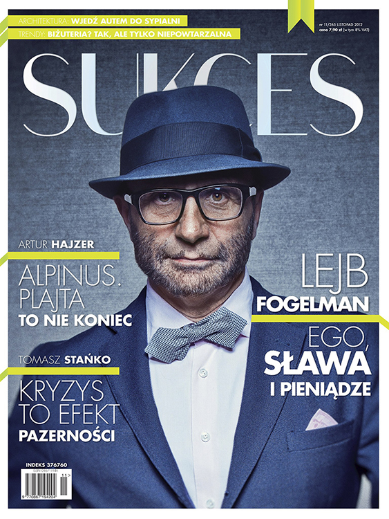 Lejb Fogelman / Sukces, Warszawa 2012