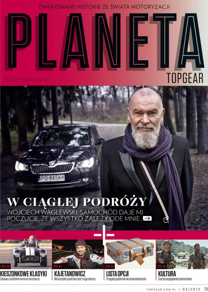 Wojciech Waglewski Skoda Superb