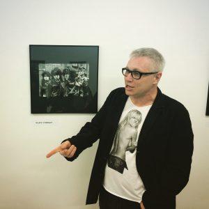 """Offik """"Punks z miasta Łodzi"""" / wystawa w galerii Art_inkubator Łódź 2015"""