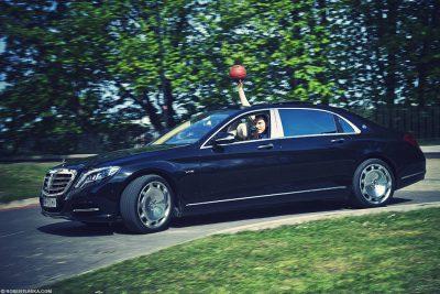 Cezary Trybański Mercedes Maybach