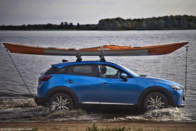 Mazda CX3 /Rzeka Płonia, Szczecin 2015