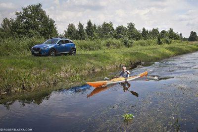 Aleksander Doba - Mazda CX3 / Rzeka Płonia, Szczecin 2015