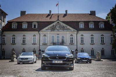 Jaguar XE R S vs Skoda Superb vs DS 5