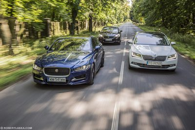Jaguar XE R S Skoda Superb DS 5
