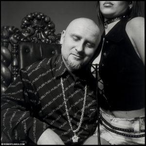 Joanna Krochmalska oraz Piotr Liroy Marzec / Warszawa 2002