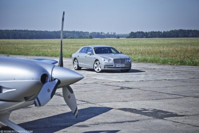 Bentley Flying Spur / Kamień Śląski, Top Gear magazine
