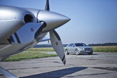 Bentley Flying Spur / Kamień Śląski, Top Gear magazine