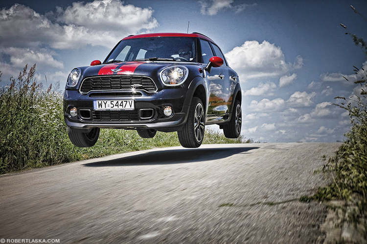 Mini John Cooper Works by Robert Laska - polish portrait & automotive photographer