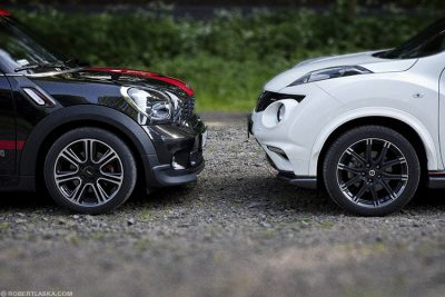 Mini John Cooper Works vs Nissan Juke Nismo / TopGear