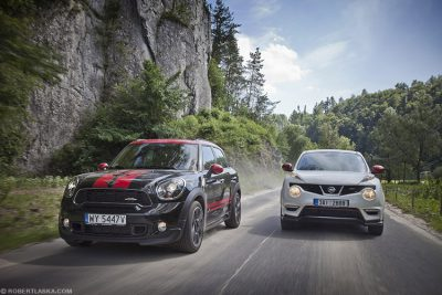 Mini John Cooper Works vs Nissan Juke Nismo