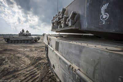 Leopard 2A4 11 Dywizji Kawalerii Pancernej Żagań