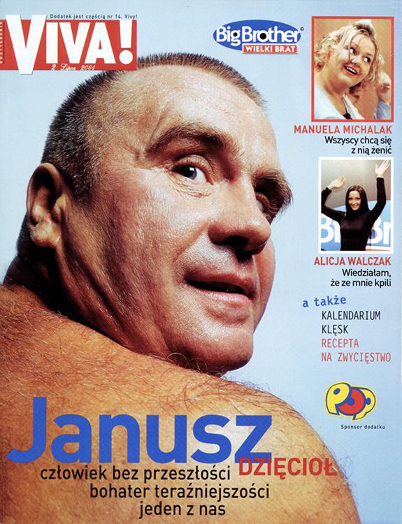 Janusz Dzięcioł Big Brother