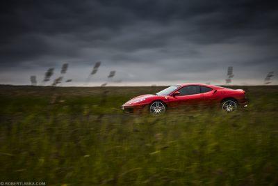 Kuba Giermaziak Ferrari F430 Scuderia