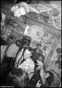 Techno punk schron pod Poniatowskim 1992